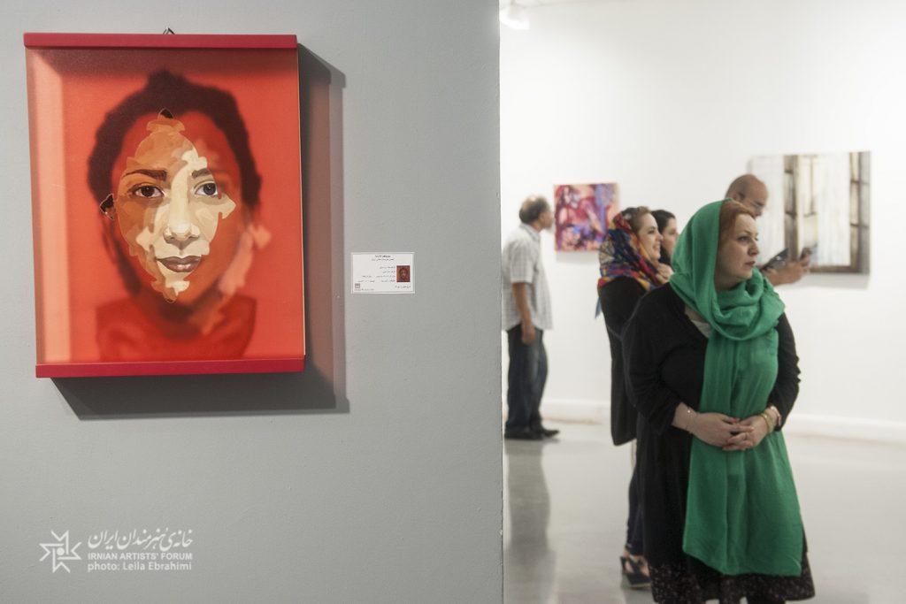 نمایشگاه «۹۷_۹۵» نمایشی از تواناییها و رشد کیفی اعضای جدید انجمن هنرمندان نقاش ایران است