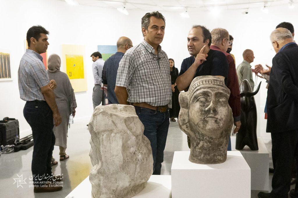 چهار نمایشگاه تجسمی در خانه هنرمندان ایران افتتاح شد