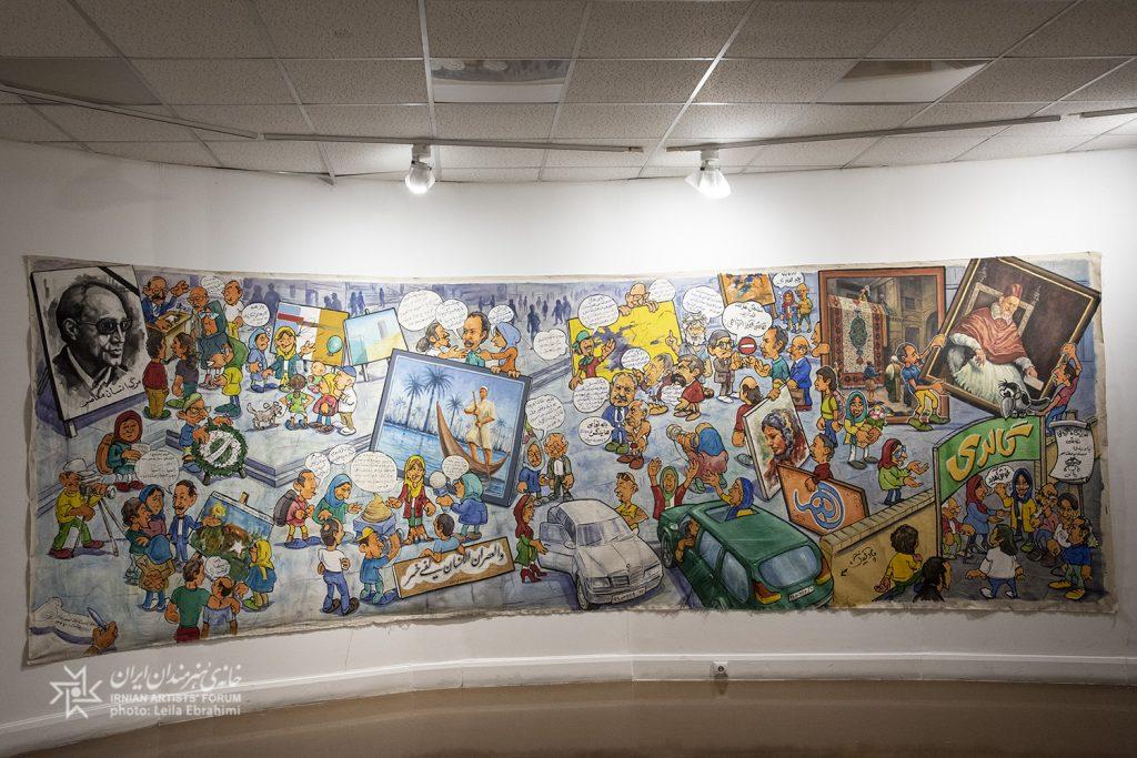 «هنربندان» نگاه اعتراضآمیز به شرایط هنر امروز جامعه است