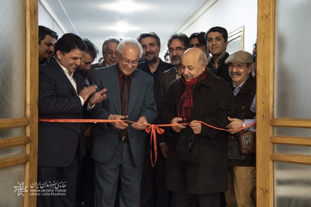 سومین نمایشگاه «سازخانه» در خانه هنرمندان ایران افتتاح شد