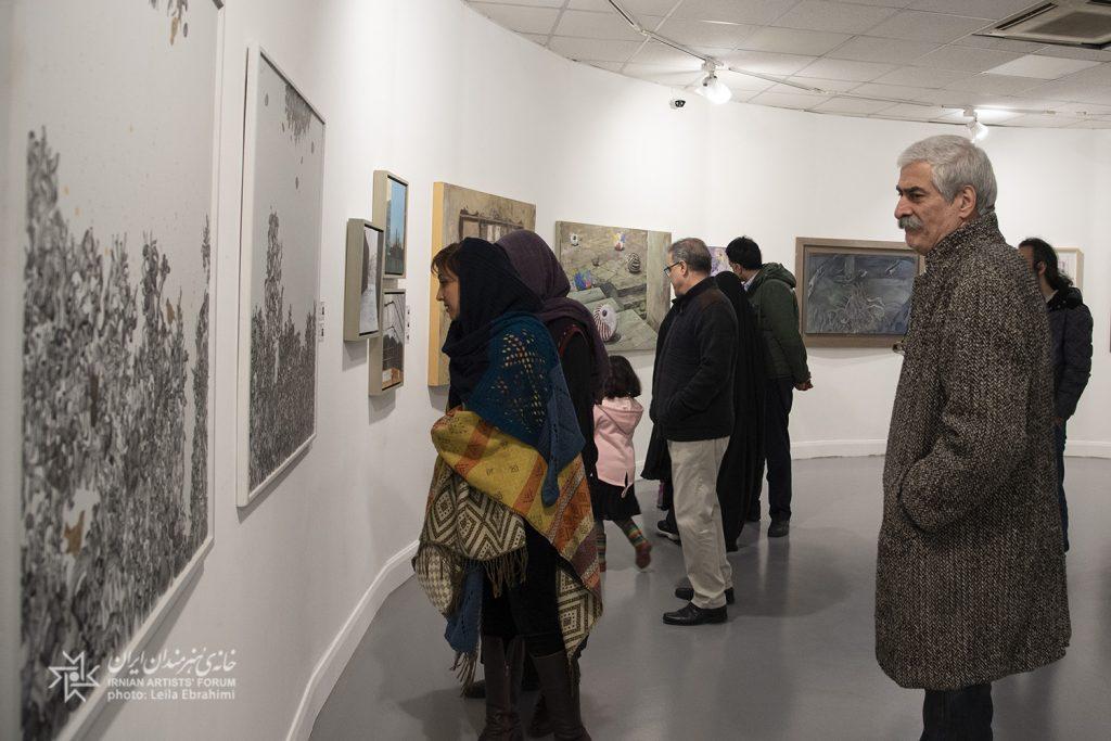 سه نمایشگاه نقاشی در خانه هنرمندان ایران افتتاح شد