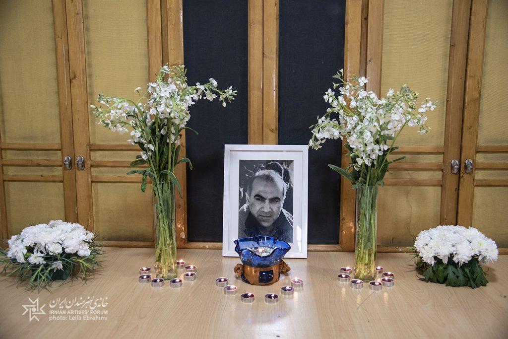 مراسم یادبود رامین مهدینژاد